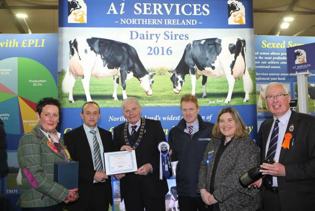 Best Large Trade Stand at 2015 Dairy Winter Fair